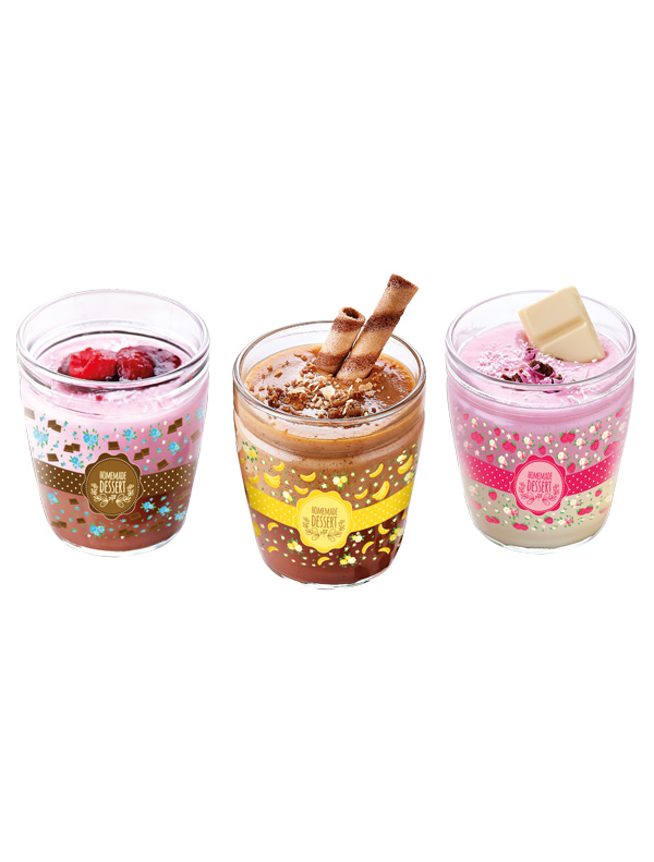 Yummy 3 Pcs Pudding Bowl