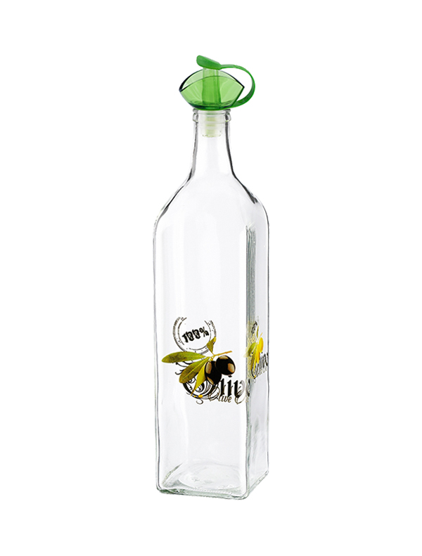 Olive Decorated Oil Bottle 1000 cc