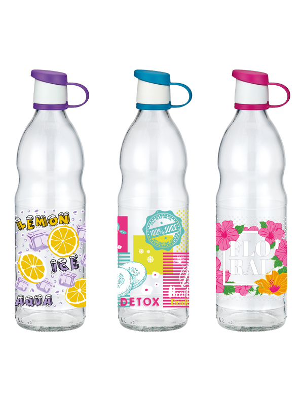 Zen Decorated Water Bottle