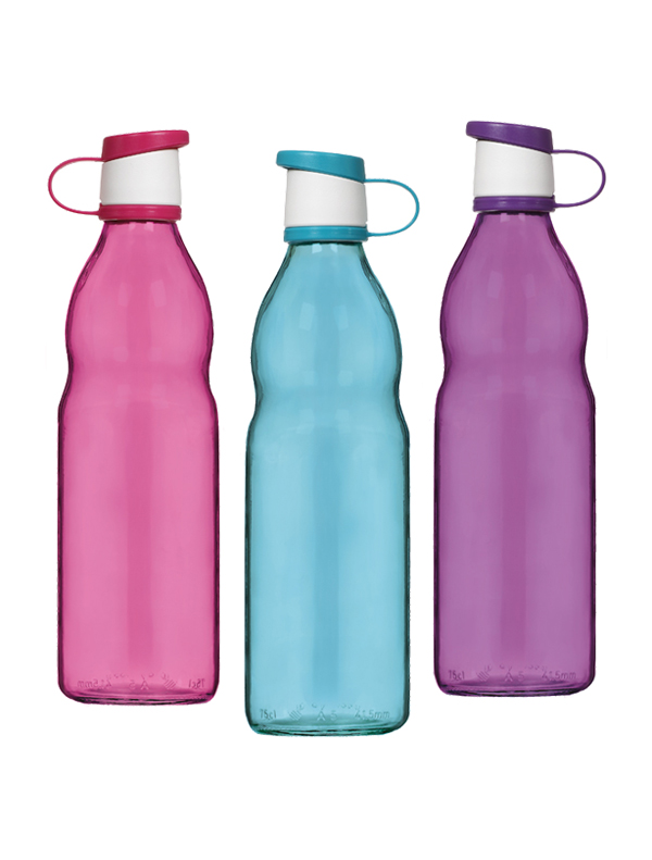 Zen Coloured Water Bottle 750 cc