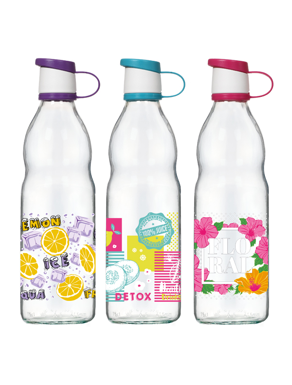 Zen Decorated Water Bottle 750 cc