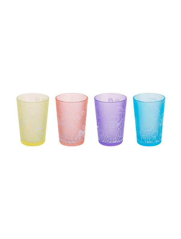 Lucky Coloured Decorated Tumbler