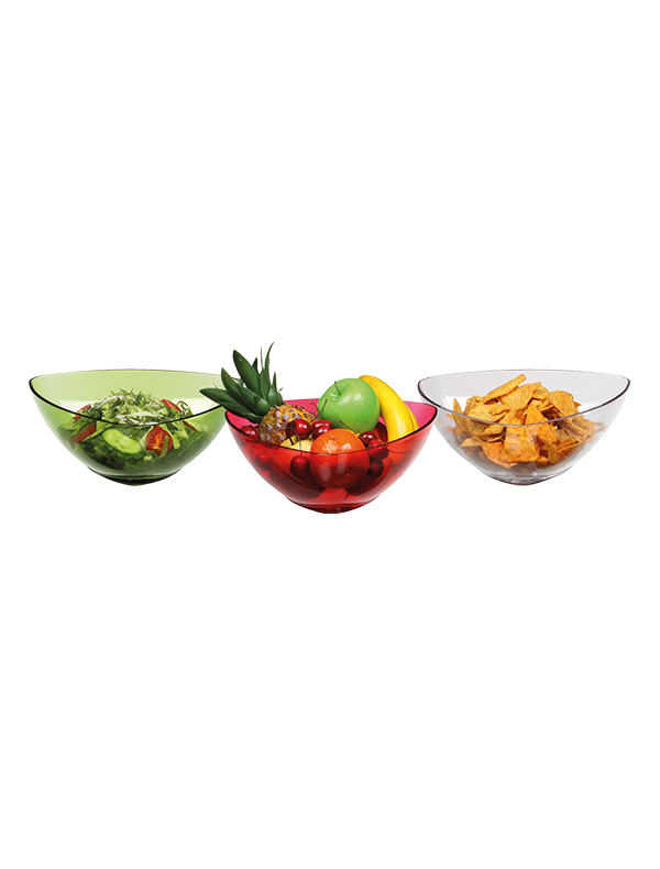Pure Plastic Salad Bowl