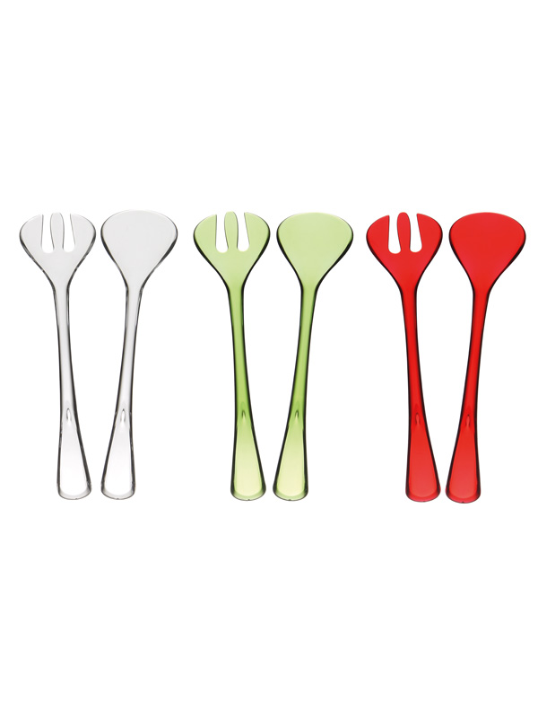 Pure Plastic Salad Serving Set
