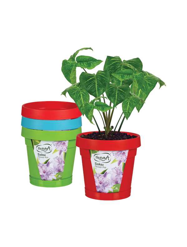 Garden Plastic Flower Pot