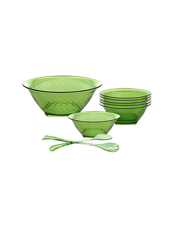 Salad Bowls & Serving Set Charm Salad Set