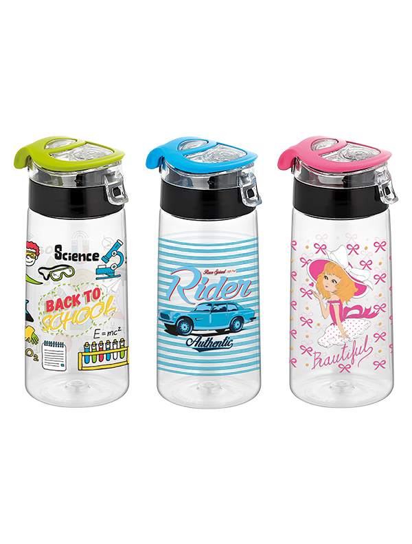 Mini Atlas Decorated Water Bottle 500 cc