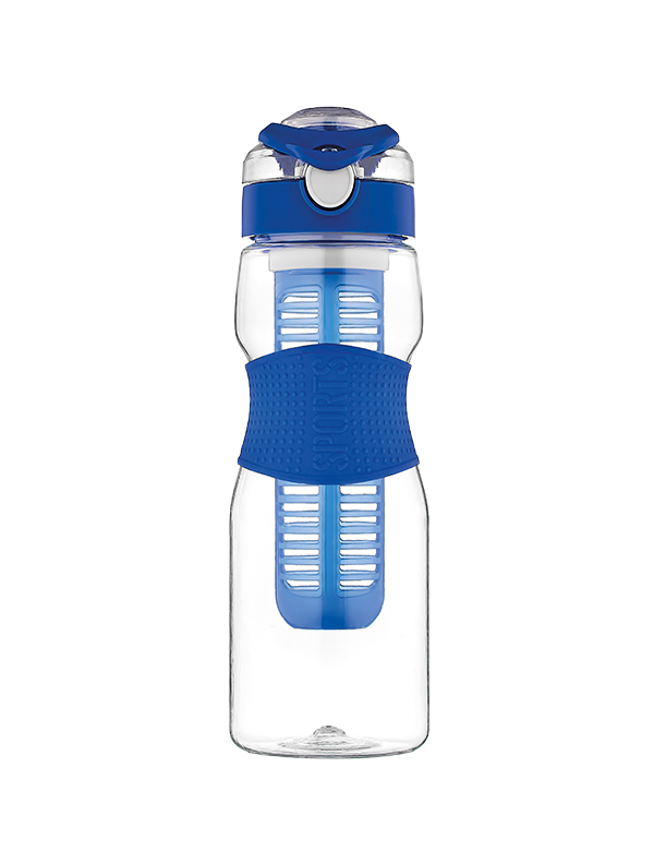 Saga Water Bottle with Silicone Sleeve and Infuser