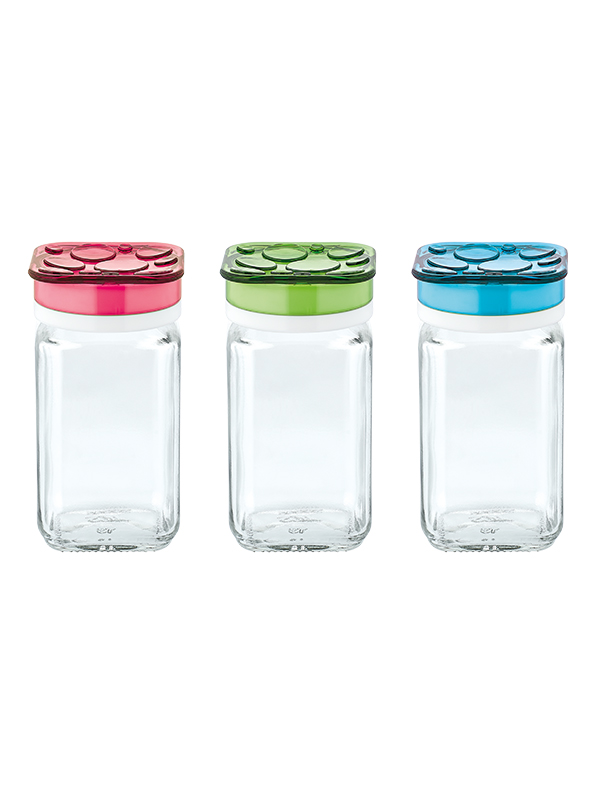 Garden Spice Jar Set