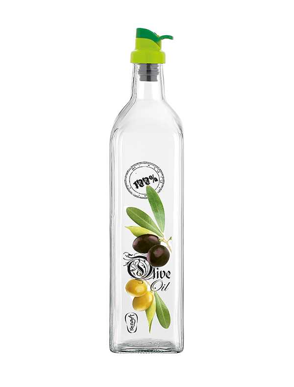 Olive 750cc Decorated Oil Bottle