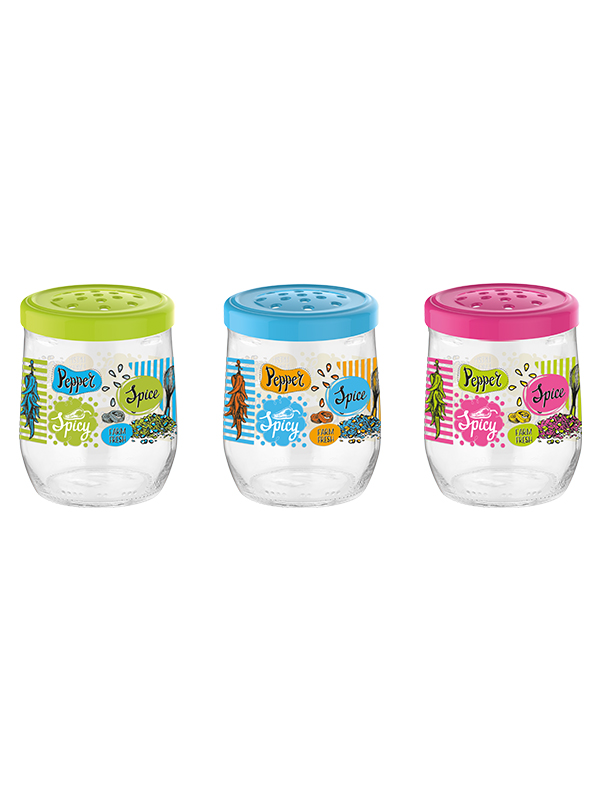 Tosca Decorated Spice Jar 300 cc